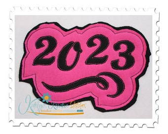 2023 Distressed Applique