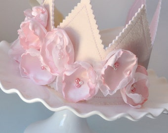 Girl's Petal Soft Birthday Crown, Special Occasion, Dress Up