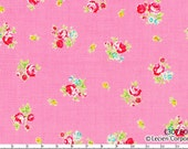 Flower Sugar Spring 2013 by Lecien - Tiny Tossed Roses on Pink 30750 20