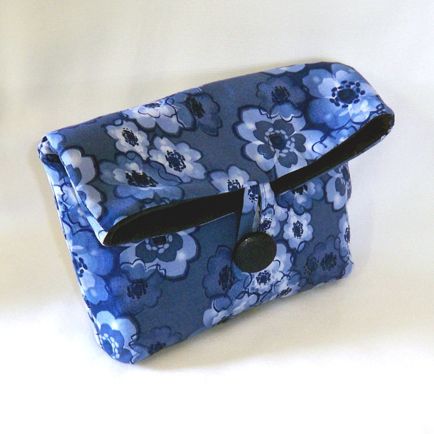 cosmetic bag floral clutch purse makeup bag by