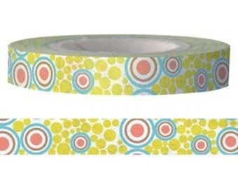 Washi Tape - Circle (8mm X 15M)