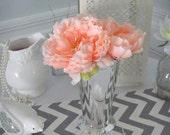 Peony Centerpieces Home Decor,  Easter Centerpieces, Baby Shower Decor, Flower Arrangements