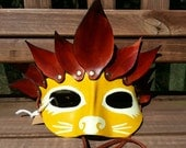Greek Lion Mask : Ready T...