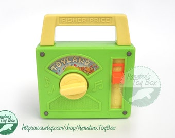 Fisher Price Music Box Radio: Toyland 795 Works