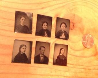 6 tin types family