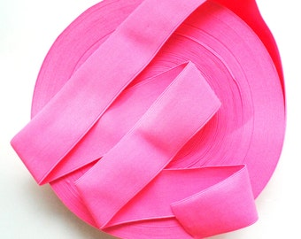 "2"" Neon Pink Stretch Elastic Band"