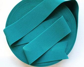 "3"" Turquoise Stretch Elastic Band. (1 Yard)"