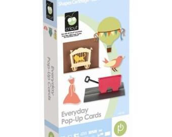 EVERYDAY POP-UP Cards Cricut Cartridge