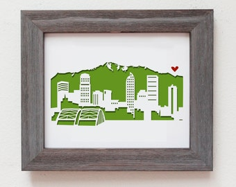 Denver, Colorado - Personalized Gift or Wedding Gift