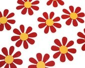 Flower die cuts - 4 dies (2 in.) - you choose your colors and size