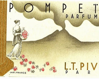 French Perfume Card- L.T. Piver