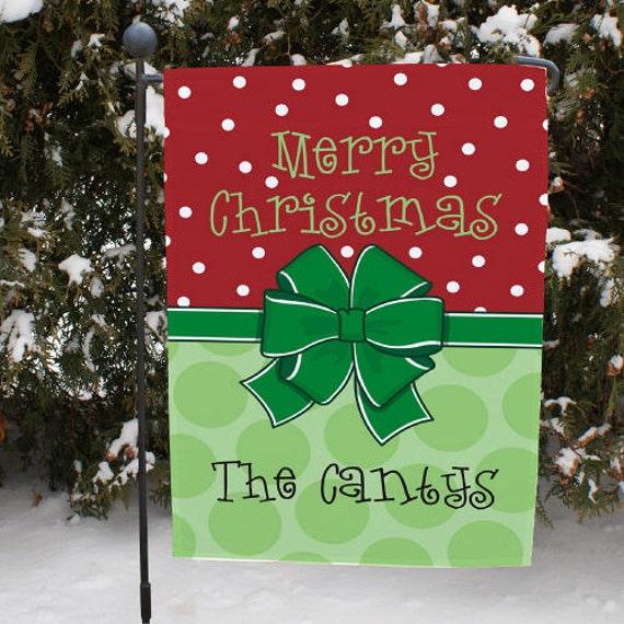 Merry Christmas Garden Flag-double sided- 83069452X