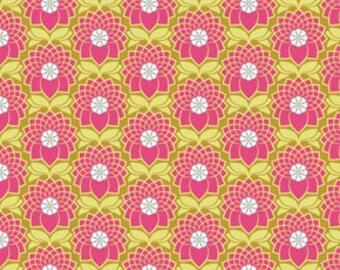 54003- Joel Dewberry Heirloom collection- Chrysanthemum in blush color -  - 1 yard