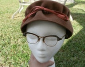 Vintage Wool Felt Hat by Amy of New York