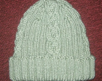 Winter Warmer Beanie - KNITTING PATTERN – pdf file by automatic download