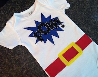 Super Hero Baby Onesie