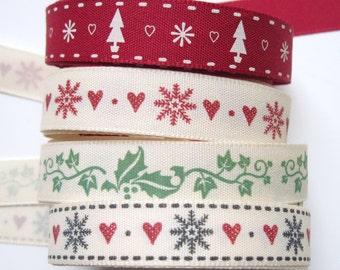 Christmas ribbons 2