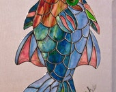 Stained Glass Fish has been Caught