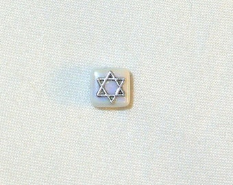Star of David Tie Tack