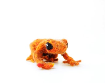 Little Needle Felted Froggy