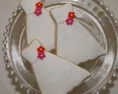 Sugar Cookie - Favors - Wedding Dress.  3.50 each. Perfect as a Wedding/Rehearsal Dinner/Bridal Shower Favors. Custom Colors.