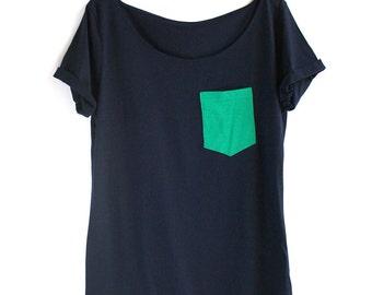 Organic Cotton Green Pocket Tunic