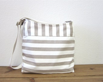 khaki stripe handbag ipad bag/shoulder bag/khaki bag/bags and purses/women/Accessories/for her/trending items/more/spring fashion/Stripe bag