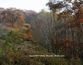 Blue Ridge Looks Like a Painted Scene - Blue Ridge  - Virginia