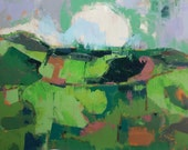 "May II"" Original oil landscape on canvas 23.7"" x 35.7""(60.1cm x 90.7cm)"