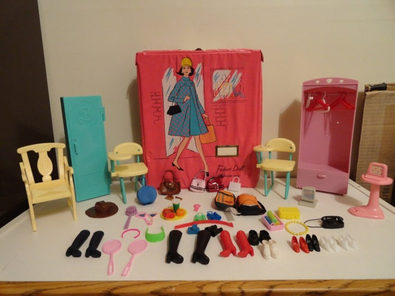 Vintage Barbie Accessories And Furniture Lot By Homeintheoaks