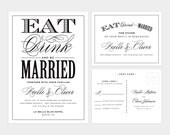 Be Married Wedding Invitation & Response Card