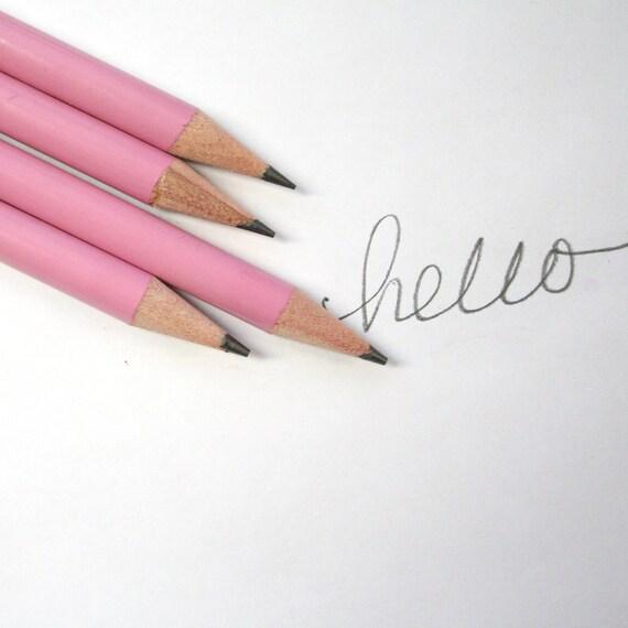 16 custom engraved pencils set of 16. back to school.