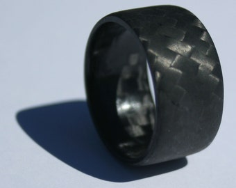 Bi-Directional Diagonal - Pure Carbon Fiber Ring