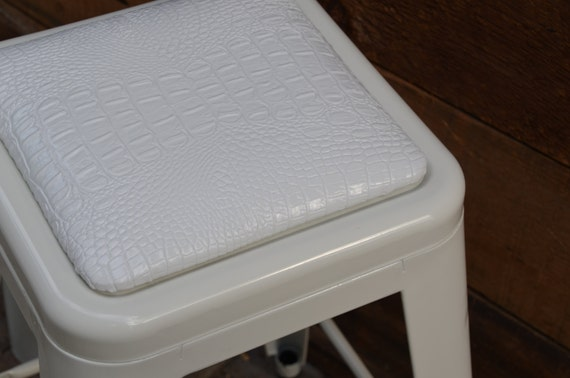 Custom Tolix Seat Cushions:  in the Fabric of Your Choice
