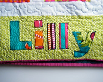 Personalisation for Quilts