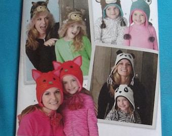 Novelty Animal Hats for Women and Children