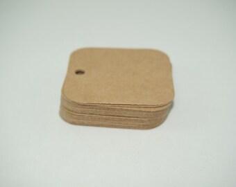 Mini Tags, Gift Tags, Kraft Tags, Label Tags, Square Tags, Small Tags, Small Label Tags, Scrapbook Tags, Gift Tags, Cardstock Tags, Kraft