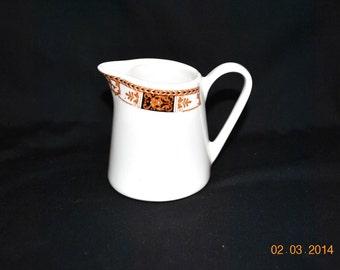 Syracuse Syralite Creamer in Webster Pattern