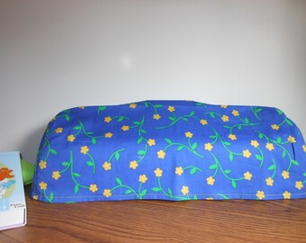 ROYAL BLUE Cricut E-2 Dust Cover, Scrapbooking, Handmade, Sewing