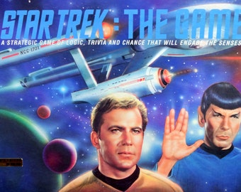Vintage Star Trek The Game 1992