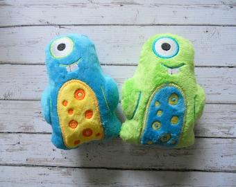 One Eyed Minky Monster Plush Toy