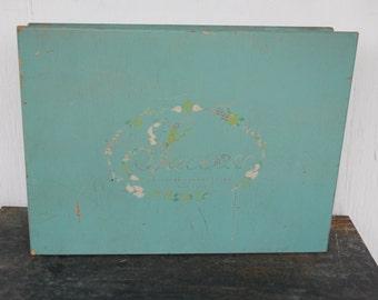 Vintage Richard Hudnut Wood Salon Box
