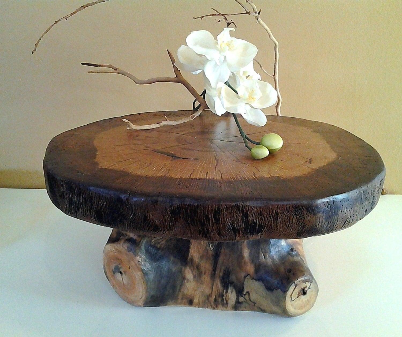 15 Oak Tree Trunk Cake Stand Rustic Wedding Home