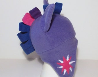 My Little Pony Twilight Sparkle Fleece Aviator Hat