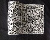 Cream Damask- unpaper towels- 11x11