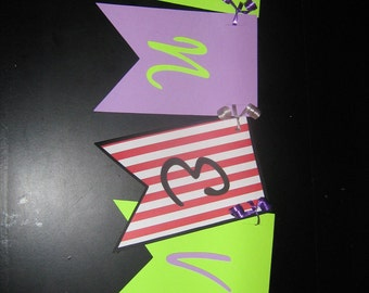 Neverland, Peter Pan, Captain Hook, Tinkerbell banner for birthdays, parties