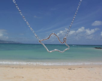 Hammered Oahu Necklace