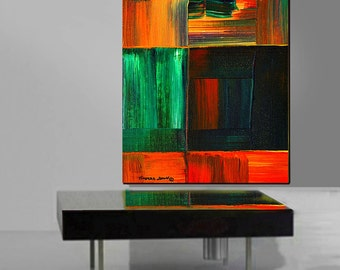 ORIGINAL Abstract Painting Large 30x40 Textured Modern Art  By Thomas John