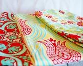 Designer Fabric Baby burp cloths