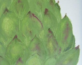 A is for Artichoke: Primitive Kitchen Art